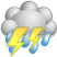 Tue - Thunderstorms