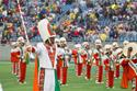 The Florida A&M Marching Band puts on a great performance for fans in attendance.