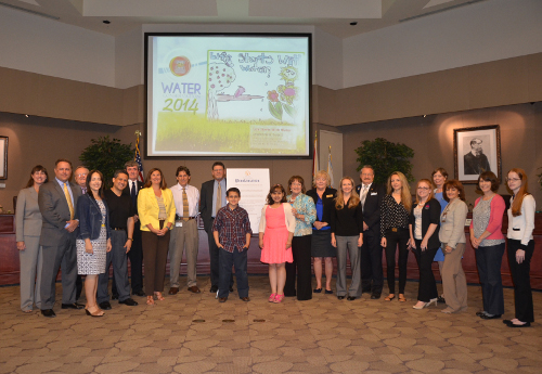 Mayor Jacobs Announces Water Conservation Month Challenge at BCC Meeting