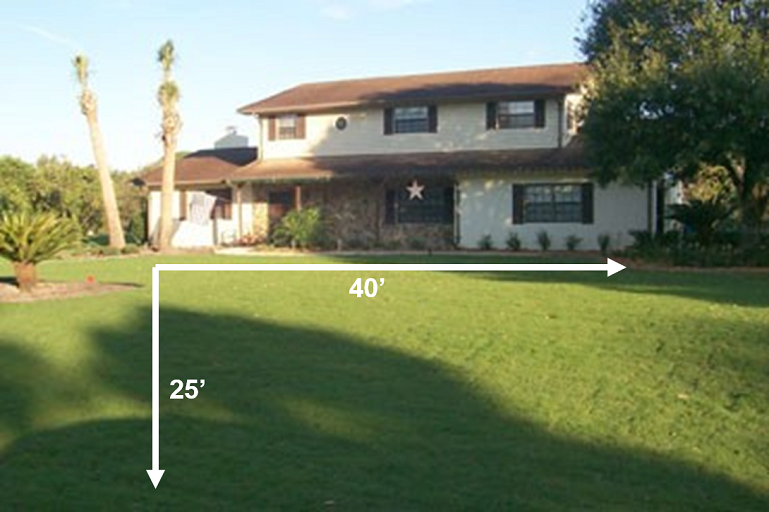 Lawn Measurements